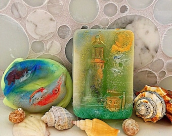 LIGHT HOUSE soap lighthouses lighthouse art watch tower coastline sea coastal waterfront lighthouse gifts lighthouse collector ocean boat