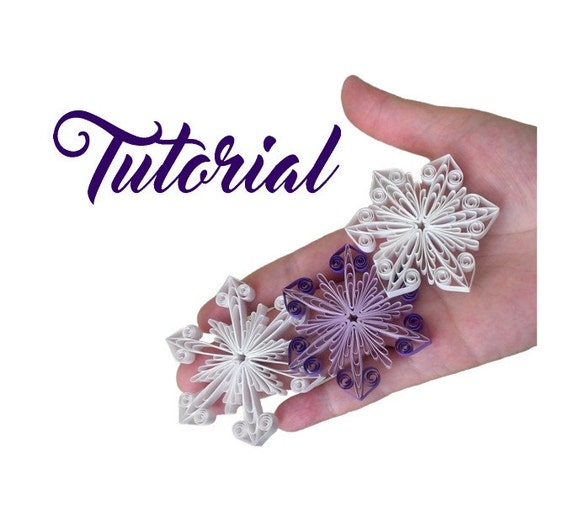 Items Similar To Quilling Pattern Tutorial Step By Step