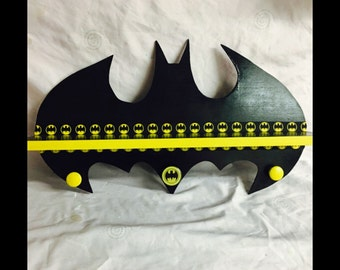 Batman shelf - batman decor - superhero shelf -super hero signs - batman birthday - superman - super heros - boys shelfs - kids birthday