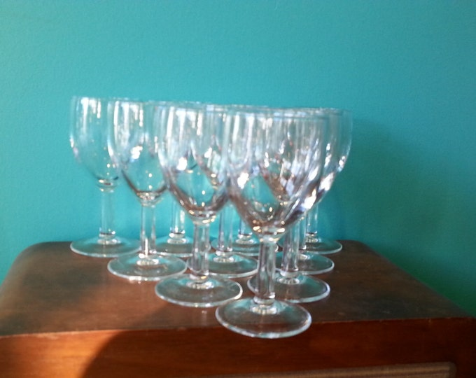 Sherry Glasses - Set of 8 - Made in France