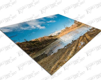 Print on Canvas Blea Tarn snow covered Side Pike Lake district X1669