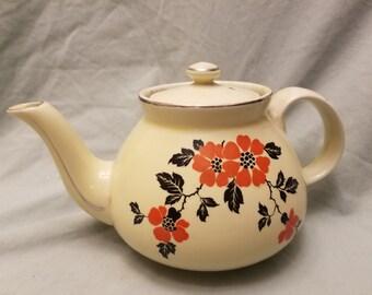Hall's Pottery Poppy Tea/coffee pot