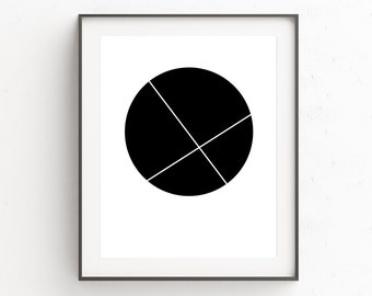 Wall Decor | Wall Art | Bedroom Wall Decor | Art Prints | Minimalist Decor | Printable Art | Home Decor | Black and White Art