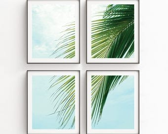 Large Beach Wall Art | Wall Art Print Sets | Modern Art Set