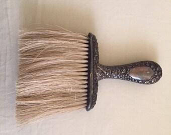 Vintage Antique Silver Handle Clothes Brush
