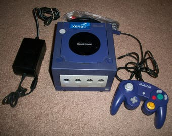 Nintendo Gamecube Game Cube Console System Modded with Xeno Modchip Mod Chip