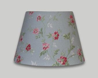 Primrose Blue Pink Trailing Rose Floral Empire Lampshade Tapered Lamp Shade 25cm 30cm 35cm 40cm 50cm 60cm 70cm lightshade