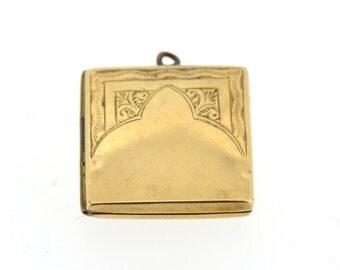 Vintage 9ct gold locket, vintage locket, gold locket, small gold locket, small vintage locket