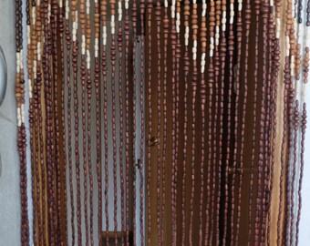 Beaded door curtain | Etsy