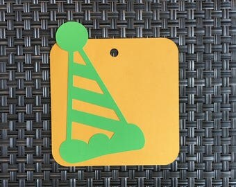 Premade Die Cut Birthday Scrapbook Tag. Scrapbook Birthday Diecuts. Journal. Gift Tags. Birthday Party Favors. Smashbook. Pages/Layouts