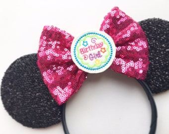 NEW! Birthday Mouse Ears