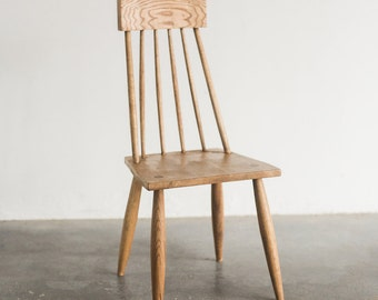 Mid Century Modern Chair Oak