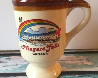 Niagara Falls Canada Souvenir Travel Rainbow Mug