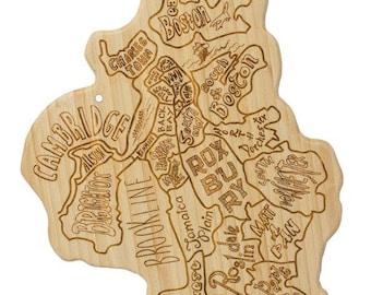 Boston City Cutting Board