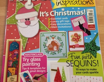 Papercraft  inspirations December 2007 issue 41 card making etc