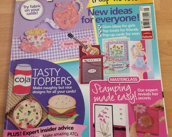 Papercraft  inspirations May 2008 issue 47 card making etc
