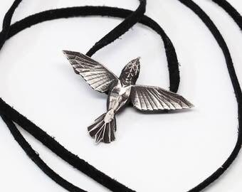 Hummingbird necklace - VvILK