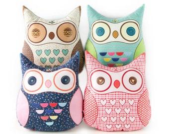 Owl Plushies, Owl Softtoy, Owl Plush Toy, Stuffed Owl