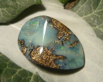 Polished Boulder Opal, 32ct