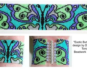Exotic Butterflies 2 Bracelet
