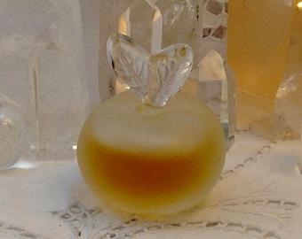 Nina Ricci, Fille d'Eve, 15 ml. or 0.5 oz. Flacon, Pure Parfum Extrait, Lalique, 1952, Paris, France ..