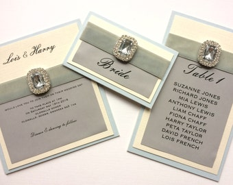 Vintage Glamour Collection, Wedding Invitation