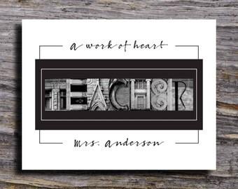 Teacher Gifts, Teacher Christmas Gifts, Personalized Teacher Gift, Teacher Appreciation Gift