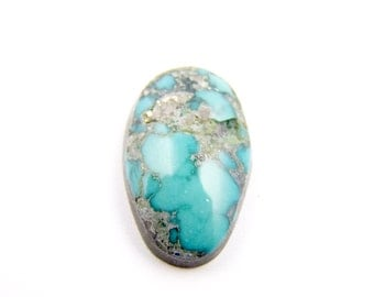 Natural Mongolian Turquoise Cabochon