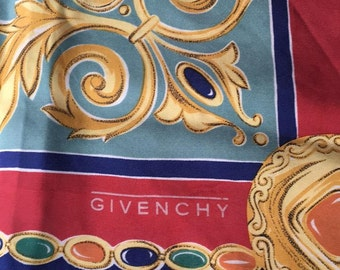 Vintage GIVENCHY silk scarf