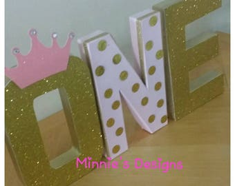 Pink and gold table letters,Pink and gold 1st birthday,Pink and gold princess ,Pink and gold cake table letters,Princess cake table letters