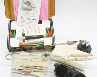 Jewelry Soldering Kit Smith Little Torch Set Tools Materials Gold Silver Repairs (5.10 M BOX)