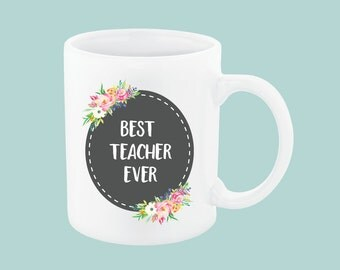 Best Teacher Ever, Daycare Provider Gifts, Preschool Teacher Mug, Teacher Aide, Daycare Teacher Gift Daycare Teacher Preschool Teacher Gifts