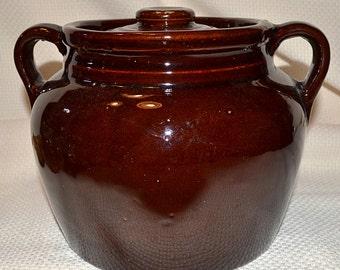 USA Bean Pot With Lid