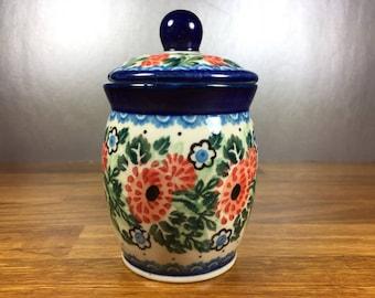 Boleslawic Stoneware Sugar Jar