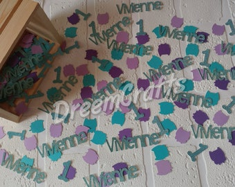 Owl Confetti. Name Confetti. Owl Birthday. Age confetti. Owl Party. Look Whoo's 1. Owl Party. 150 pieces.