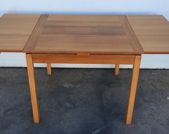 Mid Century Modern Danish Teak Refractory Table