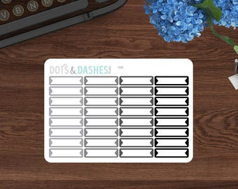 Neutral Labels, Black labels, grey labels, gray labels, black dividers, can be used with the  ERIN CONDREN LIFEPLANNER™