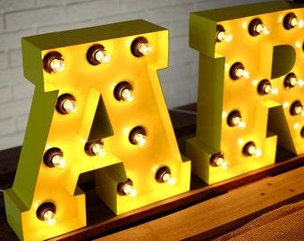light up letters A B C D E F G H I J K L M N O P Q R S T U V W X Y Z