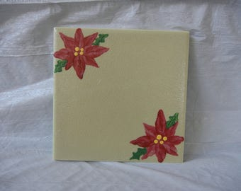 Holiday Coasters or Trivets