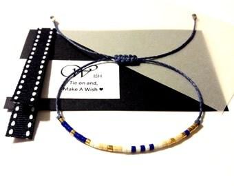 Wish Bracelet Make a Wish Friendship Bracelet Wish bracelet String Bracelet