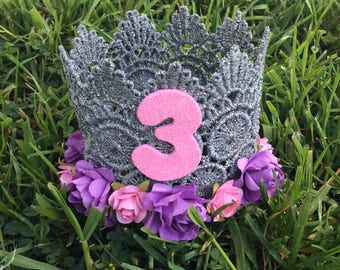 Rupunzel Birthday Crown