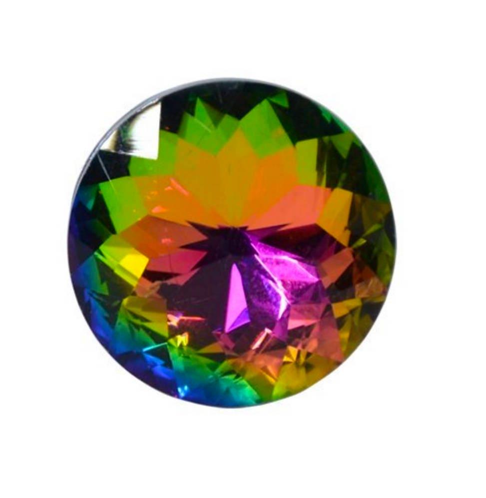 Multi color crystal glass knob drawer pull cabinet pull for Colored glass cabinet knobs