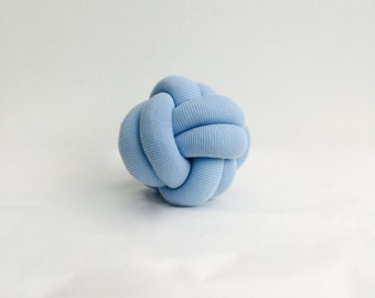 Mini Baby Blue Knot Cushion Pillow