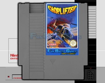 "SPECIAL ORDER! ""Choplifter"" Unreleased Nintendo NES Rescue Shooter!"