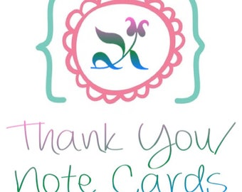 Business Thank You/Note Card; Folded Card; Postcard; PDF; E-Card