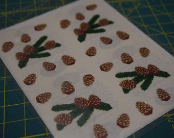 Creative Memories Pine Boughs Stickers