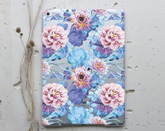 Flowers Case iPad Pro Case iPad Air 2 Case Smart Cover iPad 2 Case Tablet Stand Floral iPad Mini 4 Case iPad Pro 9.7 Case iPad Mini i023
