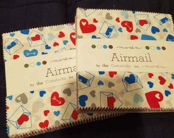 Airmail by the Comstocks charm packs