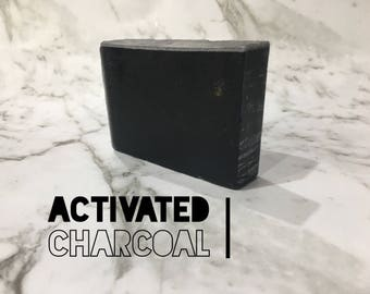 Gift for teenager - Acne care - charcoal soap - face cleanser - activated charcoal - pimple treatment - blemish fighter - glycerin soap