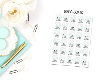 Kawaii Air Filter Planner Stickers